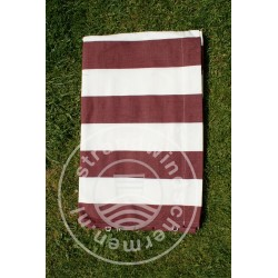 Doek-5m-Bordeaux-Rood/Wit...