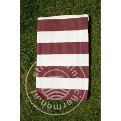 Doek-6m-Bordeaux-Rood/Wit...